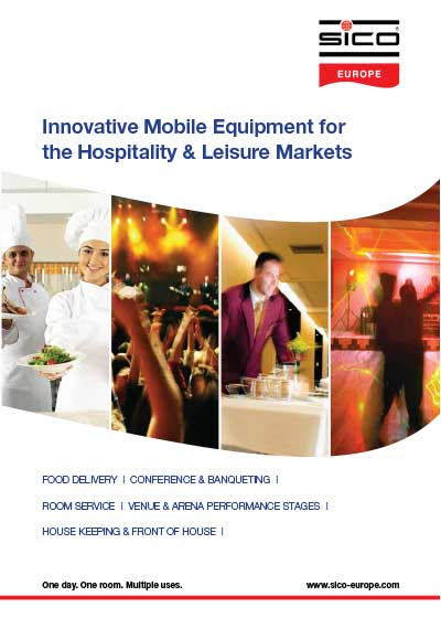 Mobile Hotel- and Hospitality Equipment by Sico