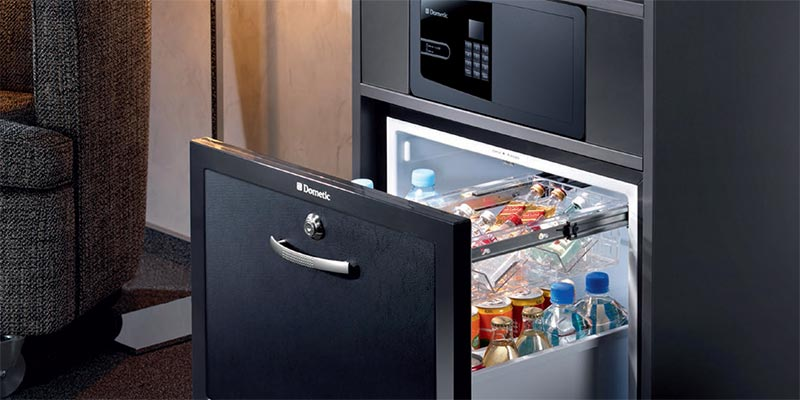 "World´s first ""Drawer MiniBar"" from Dometic"